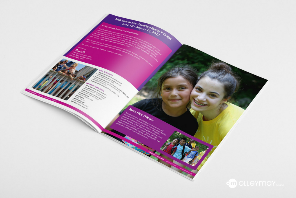 YMCA Summer Camp Brochure Design